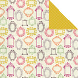 "Kaisercraft - Double-Sided scrapbooking paper 12""X12"" - Flora Delight - Decorate P1066"