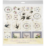 "Ultimate Crafts - Cardmaker's Paper Pack 12""X12"" 14/Pkg - Rambling Rose UL157750"