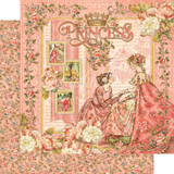 "Graphic 45 - 12""X12"" Cardstock - Princess"