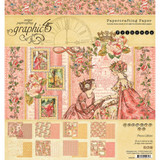 "Graphic 45 - Paper Pad 8""x8"" - Princess (557365)"