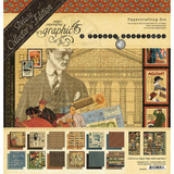 "Graphic 45 - Deluxe Collector's Edition Pack 12""x12"" - A Proper Gentleman (G4501806)"