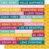 Dear Lizzy - 12'x12' Double-Sided Cardstock - New Day - Wild and Free (349494)