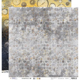 "Studio Light - Double-Sided Cardstock 12""X12"" - Industrial 3.0 - Grunge Clocks & Screws (SCRAP11)"