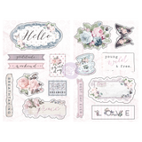 Prima - Chipboard - Poetic Rose 631918