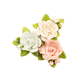 Prima - Poetic Rose - Flowers - Sweet Roses W/Leaves  637330
