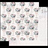 Prima - 12x12 Double-Sided Cardstock - Poetic Rose - Sweet Taste 849078