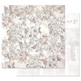 Prima - 12x12 Double-Sided Cardstock - Pretty Pale - Pretty in Pale 848842