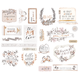 Prima - Chipboard - Pretty Pale 631901