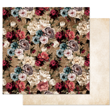 Prima - 12x12 Double-Sided Cardstock - Midnight Garden - More Roses Please 849108