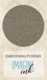 Blue Fern Imagine Ink Embossing - Mushroom (127472)