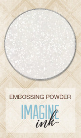 Blue Fern Imagine Ink Embossing - Pearl (107573)