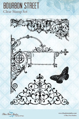 Blue Fern Studios - Clear Stamp - Bourbon Street (121371)