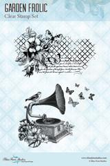 Blue Fern Studios - Clear Stamp - Garden Frolic (145674)