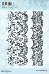 Blue Fern Studios - Clear Stamp - Old Lace (130779)