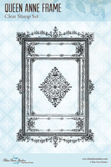 Blue Fern Studios - Clear Stamp - Queen Anne Frame (130571)