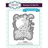 Creative Expressions - Sue Wilson - Stamps to Die For - Roxy's Hydrangea & Ivy (UMS856)