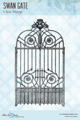 Blue Fern Studios - Clear Stamp - Swan Gate (117671)