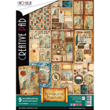 Ciao Bella - Double-Sided Creative Pad A4 9/Pkg - Repubbliche Marinare (CBCL013)