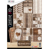 Ciao Bella - Double-Sided Paper A4 10/Pkg - Woodland (CBC003)