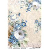Ciao Bella - Broccato Estense Collection - Il Giardino Di Lucrezia - Decoupage Rice Paper Sheet (CBR021)