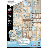 Ciao Bella - Double-Sided Creative Paper Pad A4 10/Pkg - Broccato Estense (CBC007)