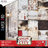 "Ciao Bella - 12""X12"" Double-Sided Paper Collection - Snow and the City (CBPM015)"