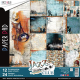 "Ciao Bella - 12""X12"" Double-Sided Paper Collection - Jazz Club (CBPM014)"