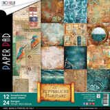 "Ciao Bella - 12""X12"" Double-Sided Paper Collection - Repubbliche Marinare (CBPM013)"