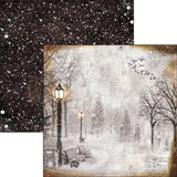 """Ciao Bella - 12""""X12"""" Double-Sided Cardstock - Snow and the City - The First Fall Of Snow (CBSC12 051)"""