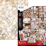 Ciao Bella - Double-Sided Paper A4 10/Pkg - Snow and the City (CBCL015)