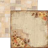 Ciao Bella - Double sided 30.5 x 29.5 cm - 12 x 11.6 inch Paper - Autumn Whispers - October Feelings (CBS015)