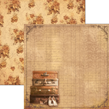 Ciao Bella - Double sided 30.5 x 29.5 cm - 12 x 11.6 inch Paper - Autumn Whispers - Sweet November (CBS013)