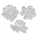 Sizzix - Tim Holtz - Thinlits Die Set 3PK - Cutout Blossoms (664161)