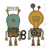 Sizzix - Tim Holtz - Thinlits Die Set 14PK - Robotic (664162)