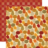 "Carta Bella - Autumn - Double -Sided Cardstock 12""x12"" - Fall Forest (CBATM57009)"