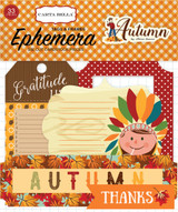 Carta Bella - Ephemera Frames & Tags Cardstock Die-cuts - Autumn (CBATM57024)