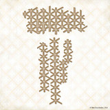 Blue Fern Studios - Chipboard - Criss Cross (686571)