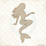 Blue Fern Studios - Chipboard - Seaside Mermaid (136078)