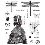Prima - Finnabair - Cling Stamp Set - Dare To Dream (0967024)