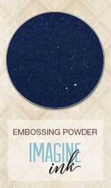 Blue Fern Imagine Ink Embossing - In the Navy (127670)