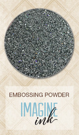 Blue Fern Studios Imagine Ink Embossing Powder - Iridescent Grey (823886)