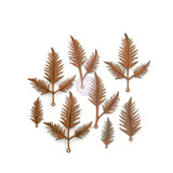 Prima - Finnabair Mechanicals - Flowers Metal Embellishments - Woodland Fern (967154)
