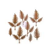 Prima - Finnabair Mechanicals - Flowers Metal Embellishments - Woodland Fern (967154)
