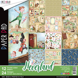 """Ciao Bella - 12""""X12"""" Double-Sided Paper Collection - Neverland (CBPM021)"""