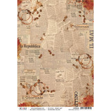 Ciao Bella - Buongiorno Italiano Collection - News Del Mattino - Decoupage Rice Paper Sheet (CBR008)