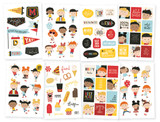 """Simple Stories - Stickers 4""""X6"""" 8/Pkg - Say Cheese 4 (SAY10540)"""