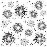 """Simple Stories - Fireworks Stencil 6""""X6"""" - Say Cheese 4 (SAY10765)"""
