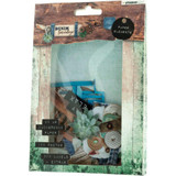 Studio Light - Paper Elements Set - Denim Saturdays - Aqua (EASY646)