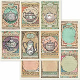 Stamperia - Double-Sided Cardstock 12x12 - Alice - Tea Time (SBB583)