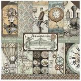 Stamperia - Scrapbooking 12 x 12 Collection Pack - Voyages Fantastiques/10Pkg ( SBBL53)